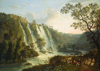 Villa of Maecenas and the Waterfalls at Tivoli