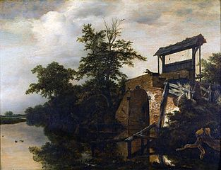 Landscape with Sluice