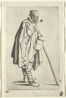 Jacques Callot - The Beggars- Beggar with Pot - 2008.34.6 - Cleveland Museum of Art
