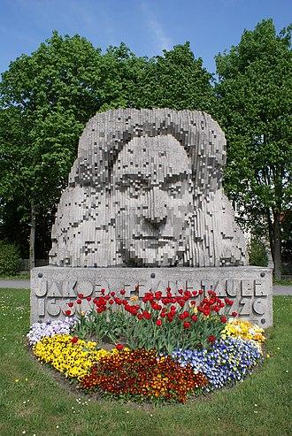 Jakob Prandtauer - Jakob Prandtauer-monument in St. Pölten