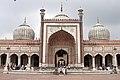 Jama Masjid, Facade, Delhi, India.jpg
