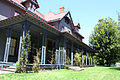 James A. Garfield National Historic Site front porch.jpg