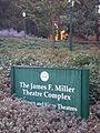 James F. Miller Theatre Complex sign.jpg
