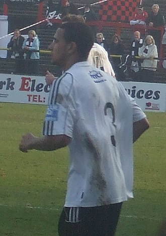 James Meredith (footballer) - Meredith playing for A.F.C. Telford United in 2009