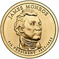 James Monroe Presidential $1 Coin obverse.jpg