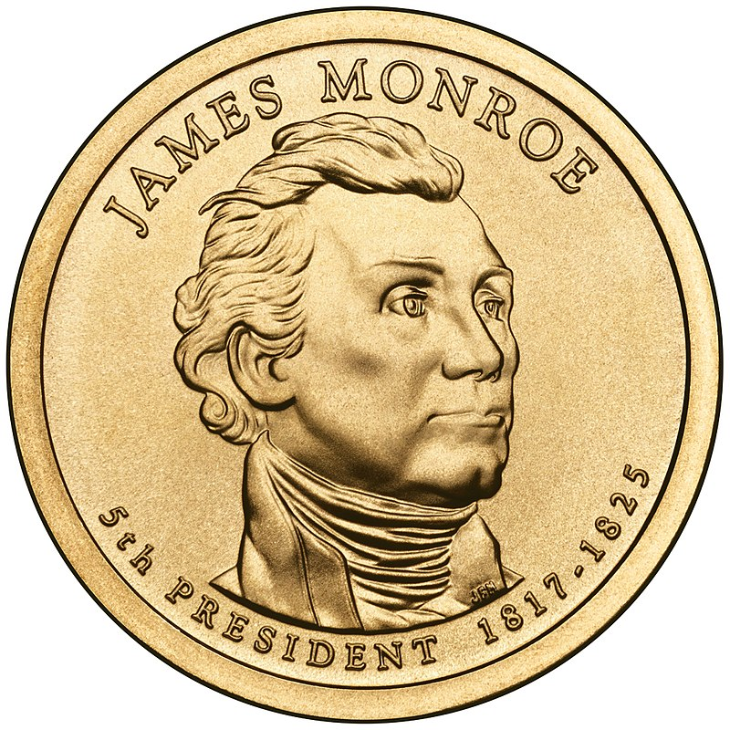 James Monroe Presidential $1 Coin obverse.jpg