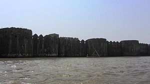 Murud-Janjira - Janjira from outside