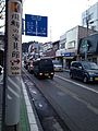 Japan Nation Route 158 in front of Zenkoji Temple in Takayama, Gifu.jpg