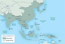 Geografické rozšíření japonské encefalitidy