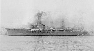 Hatsutaka-class minelayer - Image: Japanese minelayer Aotaka in 1940