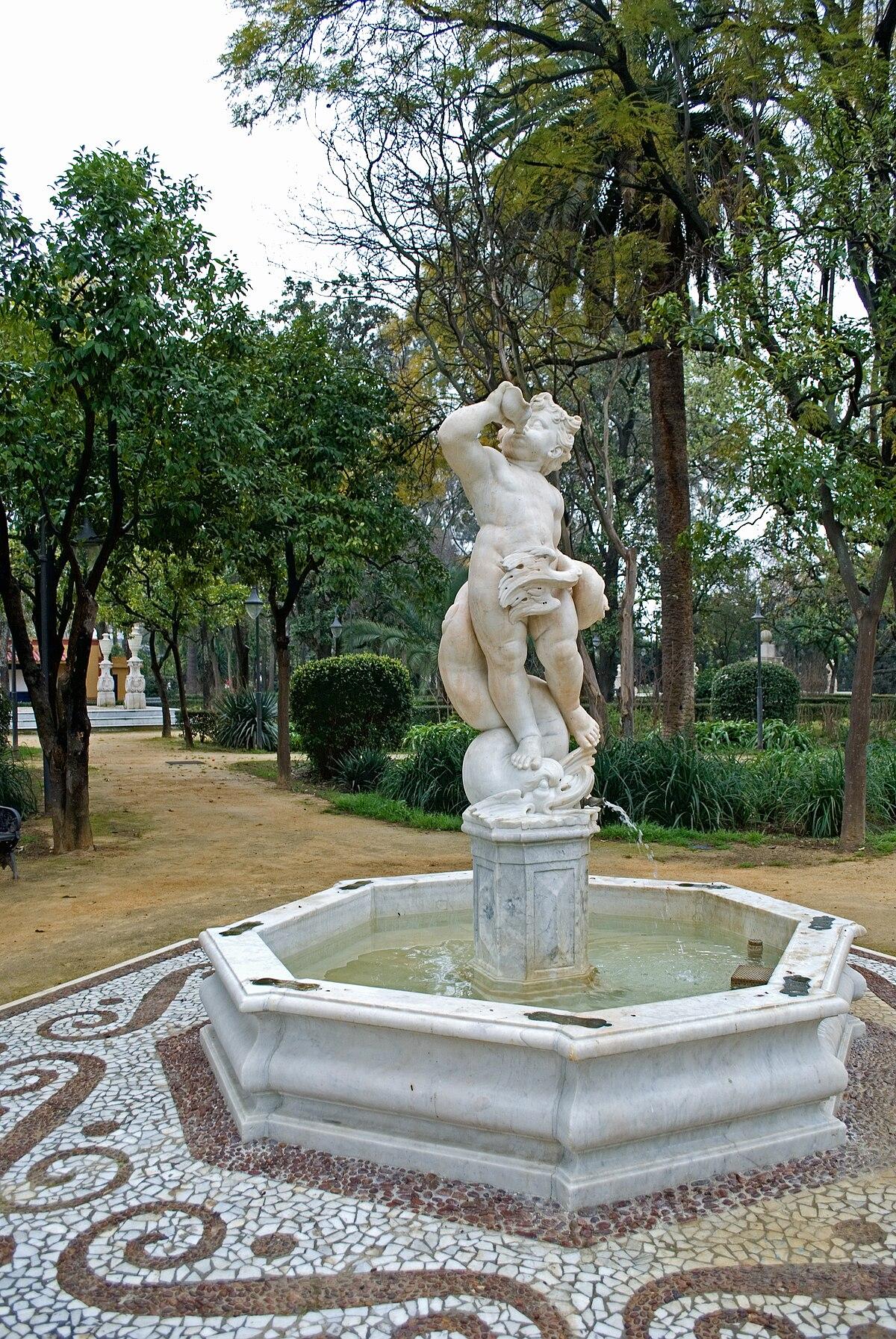 Jardines de las delicias sevilla wikipedia la for Jardines verticales sevilla