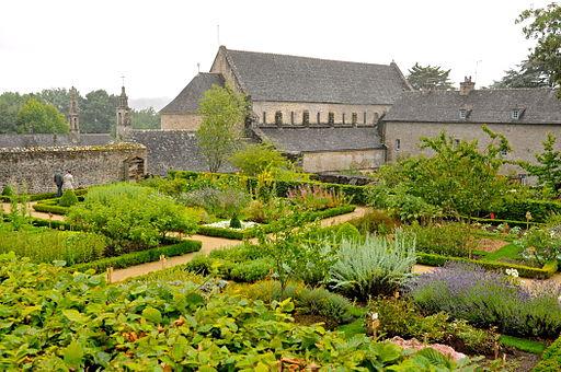 abbaye de daoulas en ete