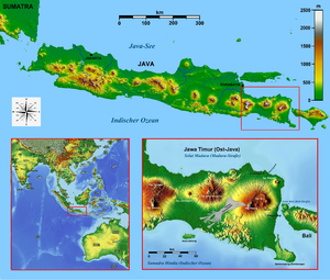 Eastern salient of Java