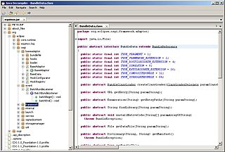JD Decompiler Decompiler for the Java programming language