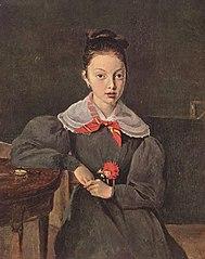 Portrait of Octavie Sennegon, the artist's niece (later Madame Chamouillet)