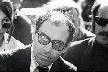 Jean-Luc Godard at Berkeley%2C 1968 %281%29
