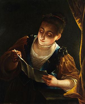 Jean Raoux - Image: Jean Raoux Lesendes Mädchen