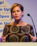 Jennifer Pahlka of Code for America, speaking at the opening of Open Up!.jpg