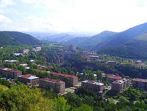 Jermuk - Residential buildings