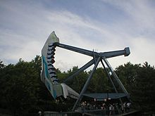 Jet Scream, a looping starship ride