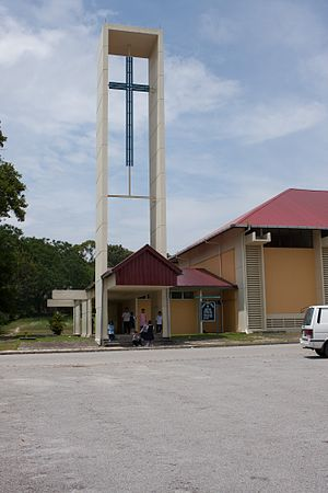 Terendak Camp - Corpus Christi Church in Terendak Camp.