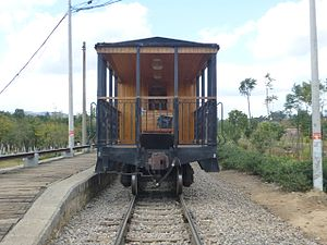 "Narrow-gauge railways in China - ""Jianshui Old Train"", an excursion train on the meter-gauge line in Jianshui County"