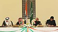 Jitendra Singh and the Minister of State for Foreign Affairs, Saudi Arabia, Dr. Nizar Bin Obaid Madani signing a Memorandum of Understanding between the Government of the Republic of India and the Kingdom of Saudi Arabia on.jpg
