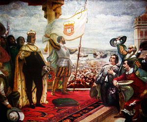 John IV of Portugal - The Acclamation of the King John IV, Veloso Salgado, 1908.