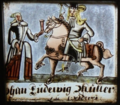 Johan Ludewig Müller Zu Weddermö(?) (séc. XVIII), Palácio da Pena.png