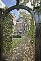 Johan de Witt House, The Hague. Rear facade and garden.jpg