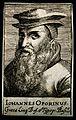 Johannes Oporinus (Herbst). Line engraving, 1688. Wellcome V0004362.jpg
