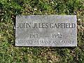 John Garfield Footstone 2007.JPG