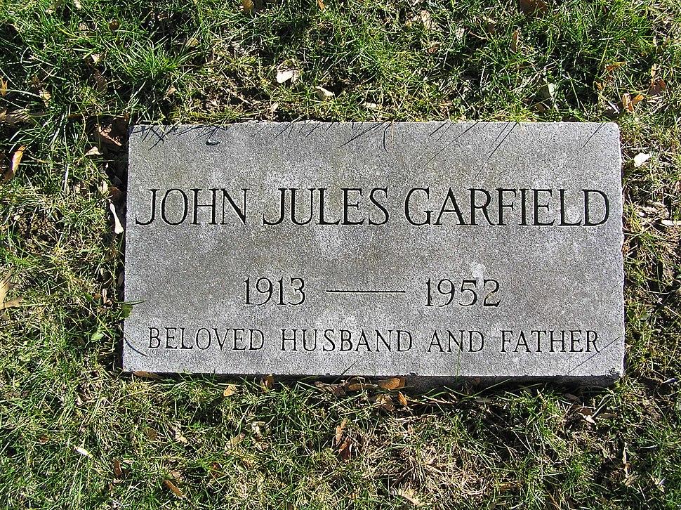 John Garfield Footstone 2007