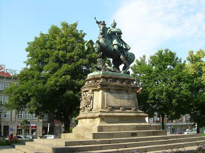 Pomnik w Gdańsku (stan obecny)