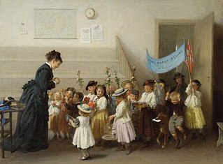 The Schoolmistress's Birthday