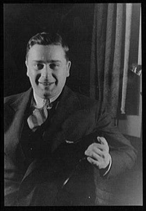 John Van Druten - John William Van Druten (1932), Carl Van Vechten photo
