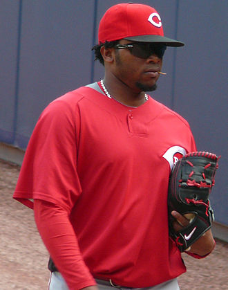 Johnny Cueto - Cueto with the Cincinnati Reds in 2009