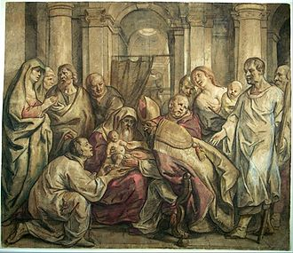 Reformed baptismal theology - The Circumcision by Jacob Jordaens. Reformed theologians see baptism as the replacement or perfection of circumcision.