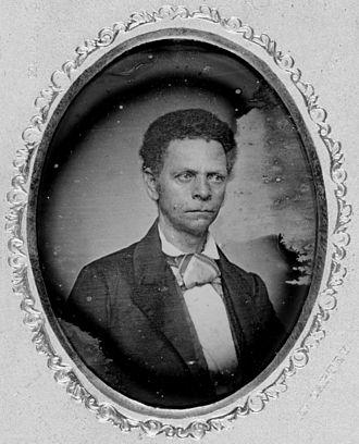 Joseph Jenkins Roberts - Daguerreotype taken in the 1850s.