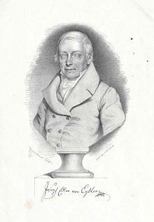 Joseph Edler von Eybler, Lithographie von Johann Stadler, 1846 (Quelle: Wikimedia)