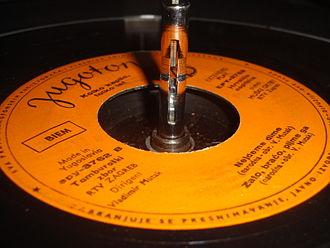 Jugoton - A Jugoton record.