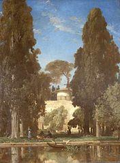 Jardin abandonnés d'Aschref (Perse)