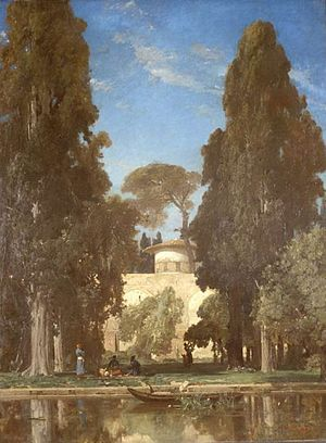 Behshahr - Pictures of the Behshahr (Chehel Sotoun Ashraf) by Jules Laurens