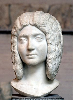 Julia Domna - Bust of empress Julia Domna ca. 200 AD. Munich, Germany