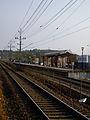 Kållered station riktning mot Göteborg.JPG