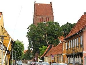 Køge Municipality - A street in Køge