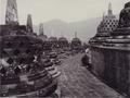 KITLV - 99871 - Kurkdjian, N.V. Photografisch Atelier - Soerabaia-Java - Stupas of the Borobudur in Magelang - circa 1915.tiff