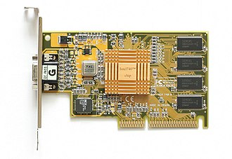 Intel740 - An Intel740 AGP card.