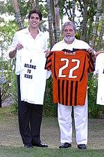 White Brazilians. Kaká and Brazilian President Lula.