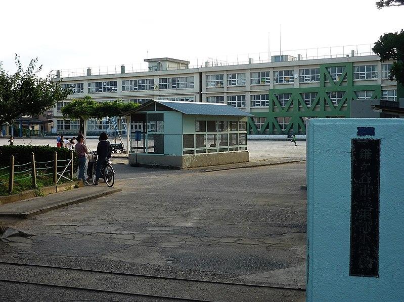 File:Kamagaya city Toubu elementary school.jpg
